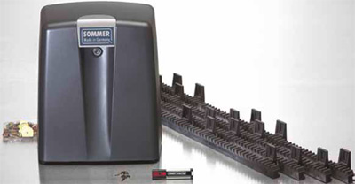 Автоматика SOMMER Gator для откатных автоматических ворот